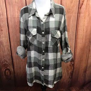 a.n.a Flannel Shirt